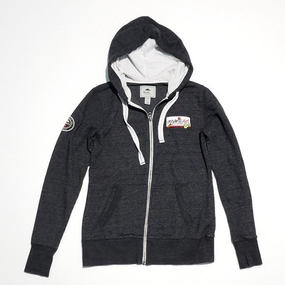 7ed425d44 Roots Tops   Canada Zip Up Hooded Sweatshirt   Poshmark
